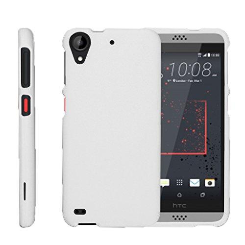 turtlearmor | Kompatibel für HTC Desire 530Fall | Desire 630| Desire 550[Slim Duo] Zwei Stück Hard Cover Slim Snap auf Fall auf Weiß -, Weiß (Htc Desire Virgin Mobile Fall)