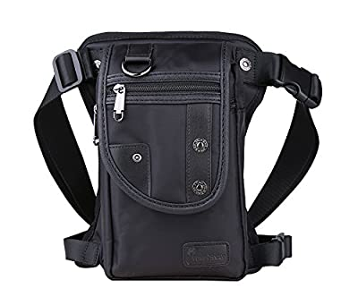 Genda 2Archer, Sac banane ville Mixte enfant Mixte adulte Femme Homme noir 15cm(length)*7cm(thickness)*26cm(height)