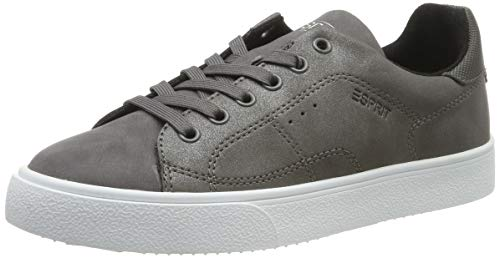 ESPRIT Damen Cherry LU Sneaker, Grau (Dark Grey 020), 39 EU