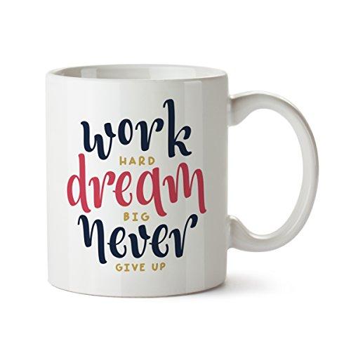 Kaffeebecher weiß Motiv