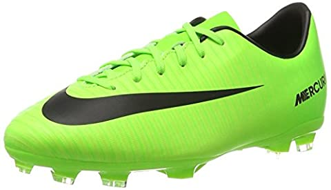 Nike Jungen Mercurial Victory Vi Fg Fußballschuhe, Grün (Electric Green/black-flash Lime-white), 38 (Mercurial Vapor Ball)