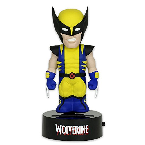 NECA Marvel Body Knocker Wolverine Wackelfigur Solarbetrieben ca. 15cm