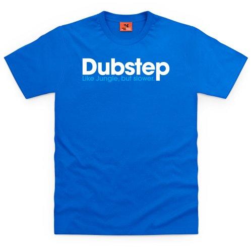Dubstep Jungle T-Shirt, Herren Royalblau