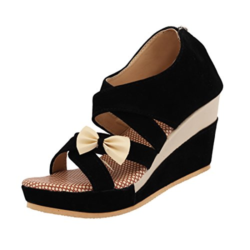 ABJ Fashion Block Heel Wedges Sandals For Women