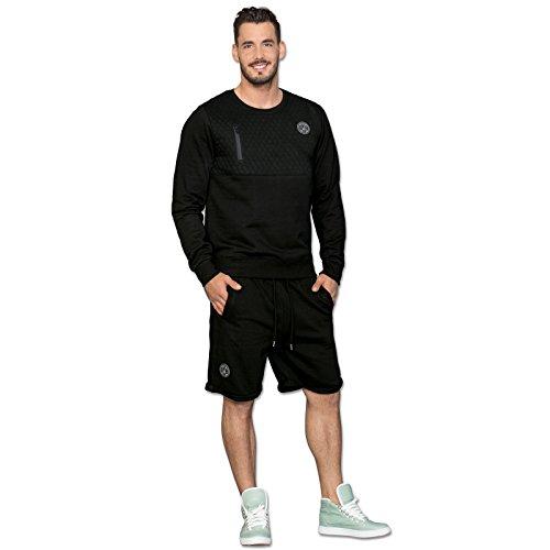 BVB-Shorts mit Steppmuster 3XL