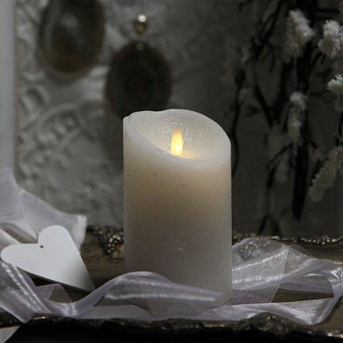 LED-Wachskerze Twinkle weiß