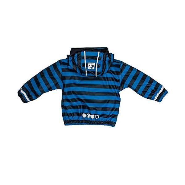 Salt & Pepper Jacket RB B Boys Stripe Chaqueta Impermeable Unisex bebé 2