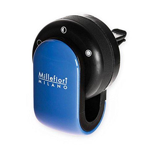 Millefiori 8059265190058 Diffusore di prufumo per Auto Go Colore Azzurro, Multicolore, U