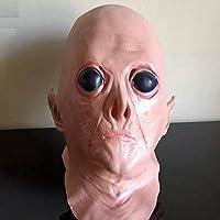 Maschera di testa viso effetto 3D, Emwel Adult HalloweenThe Dreaded Zombie Horror Maschera spaventosa mostro maschera mummia