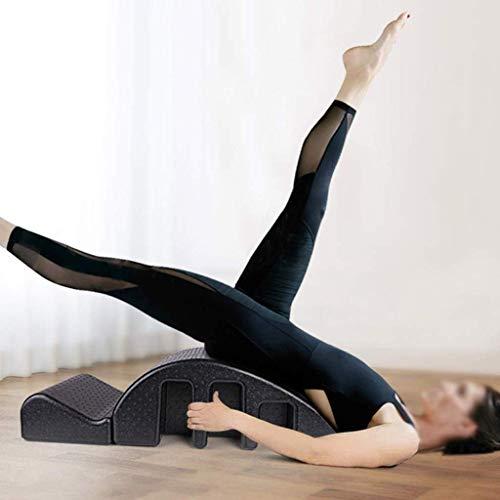 Pilates Massagetisch Lindern Sie Rückenschmerzen, Yoga-Geräte Wirbelsäulenorthese, Pilates Wirbelsäulenkorrekturschaum Abnehmbares Design für Fitness - Gerät Rückenschmerzen Für