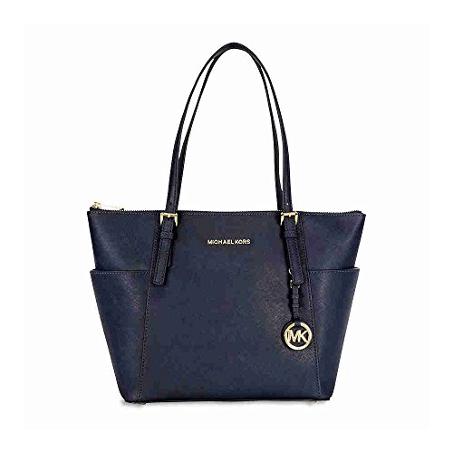 Michael Kors Jet Set Item, Sac Blue (Admiral)