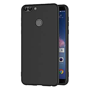 aicek huawei p smart case black silicone cover for huawei. Black Bedroom Furniture Sets. Home Design Ideas