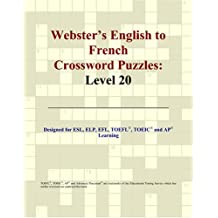 Webster's English to French Crossword Puzzles: Level 20