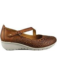 Pikolinos Victoriaville W8C-5575 - Zapatos de mujer, color brandy