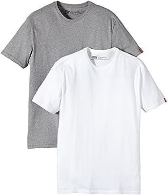 Levi's Slim 2 Pack Crew - Camiseta para hombre