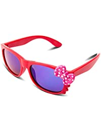 RIVBOS RBK002 Rubber Flexible Kids Polarized Sunglasses For Baby And Children Age 3-10 (Mirrored Lens Available...