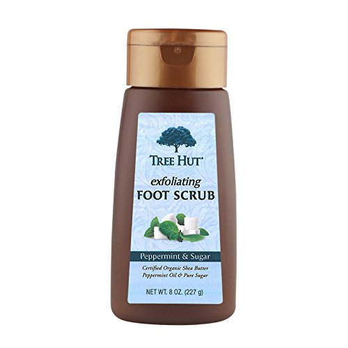 Tree Hut Exfoliating Foot Scrub, Peppermint and...