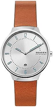 Skagen Analog White Dial Men's Watch-SKW