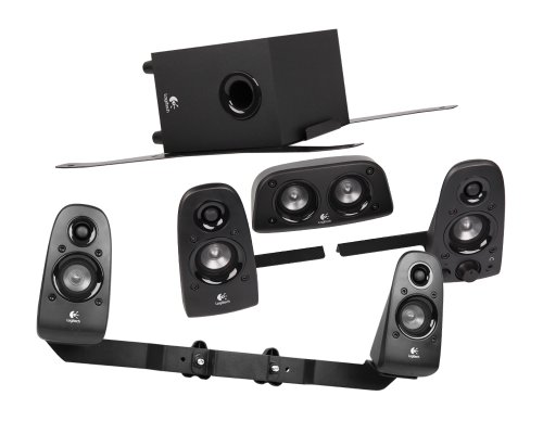 Logitech 5.1 Soundsystem 75W inkl. Halterungen für RaceRoom Home Simulatoren Ps3-home-theater