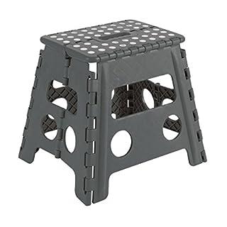Arregui TB-032-G - Folding stool 29x22x32cm, Grey