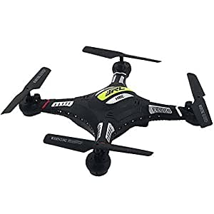 Successory® JJRC H8C DFD F183 2.4G 4CH 6 Axe RC Quadcopter Avec 2MP caméra RTF- Noir