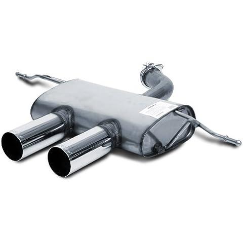 Silenziatore in acciaio inox 95350855090T