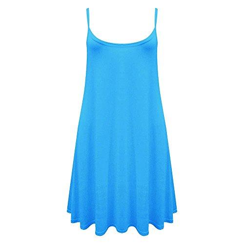 Generic - Robe - Robe - Sans Manche - Femme * taille unique Turquoise