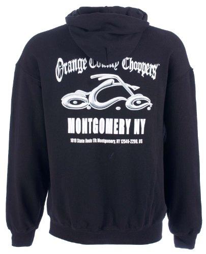 OCC Orange County Choppers Hoodie Montgomery Arc Logo schwarz-XXL (Arc Hoodie)