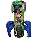 VE Boxing/Punching Bag Set With Boxing Gloves & Head Protector For Kids (Colors & Designs May Vary) - B07KFDVJQ9