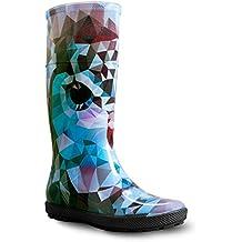 Stivali di Gomma Impermeabili Hawai Lady Exclusive 2d2d9d7c5c6