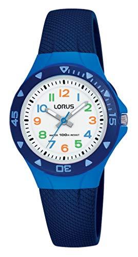 Lorus Jungen Analog Quarz Uhr mit Silber Armband R2347MX9