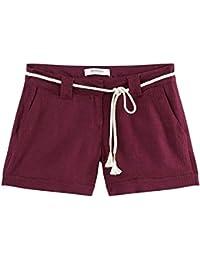 Promod Shorts aus Leinen-Mischung