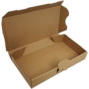 100 Warensendungen 220 x 140 x 32 Maxibriefkarton Post Maxibrief Karton BRAUN