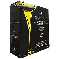 Don Giovanni Bio - 5 L - NUOVO RACCOLTO 2020 - Olio extravergine d'oliva BIO di Puglia, 100% Italiano, 100% Coratina, 5…