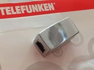 Telefunken netwerk femelle rJ-45 double-câble connecteur