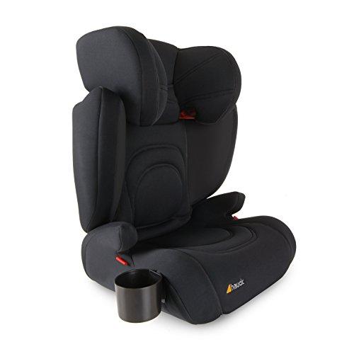 Preisvergleich Produktbild Hauck Bodyguard Pro Autositz, inkl. Getränkehalter, leicht, flexibel verstellbar, atmungsaktives Stretchmaterial, ECE Gruppen 2/3 für Kinder von ca. 3 bis 12 Jahren (15-36 kg), schwarz (black/black)