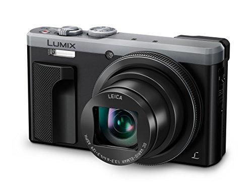 Panasonic LUMIX DMC-TZ81EG-S Travellerzoom Kamera (18,1 Megapixel, LEICA Objektiv mit 30x opt. Zoom, 4K Foto und Video, Sucher, 3-Zoll Touch-LCD) silber