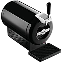 Krups The Sub Vainilla - Tirador de cerveza, tecnología Peltier Cooling, 2 litros, color negro