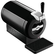 Krups The Sub Vainilla VB650810 - Tirador de cerveza, tecnología Peltier Cooling, 2 L frescura de la cerveza 15 días, hasta 2º, eficiencia energética A+, indicador listo para servir, color negro