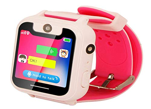 Smart Watch LBS Tracker fotocamera SOS Call back posizione SIM per bambini bambini Smart Watch GPS Fit IOS & Android