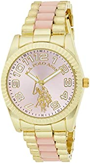 U.S. Polo Assn. Women's Quartz Metal and Alloy Casual WatchMulti Color USC4