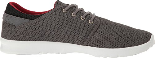 Etnies Scout, Sneakers Basses Homme GREY/BLACK/RED