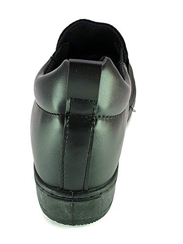 renda Shoes Scarpe da Passeggio Donna Ragazza Moda Comoda New Tacco Basso Nero