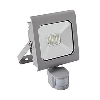 Kanlux Grey ANTRA LED High Power 30 Watt 4000K IP65 LED Outdoor Security Floodlight with PIR