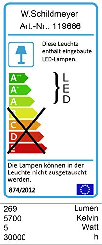 Schildmeyer 120106 Spiegelschrank, 60 x 20 x 70,5-77 cm, esche grau -