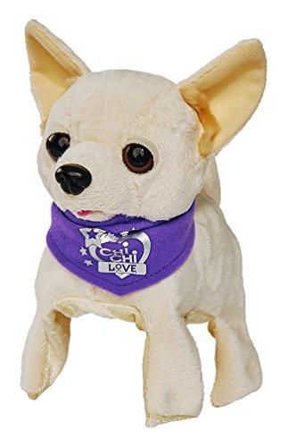 Simba 105897257 - Chi Chi Love Plüschhund Flippi 22cm mit Überschlag-Funktion