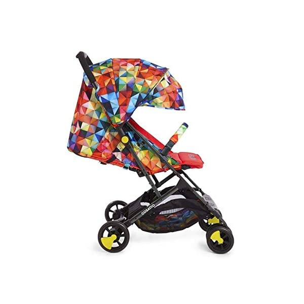 Cosatto CT4254 Woosh 2 Spectroluxe 7.2 kg Cosatto Suitable from birth to max weight of 25kg, lets your toddler use it for even longer Lightweight, sturdy aluminium frame New-born recline 3
