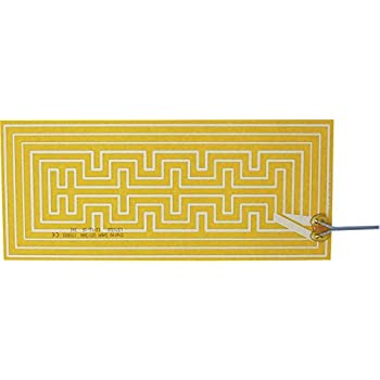 Thermo Polyester Heizfolie selbstklebend 230 V//AC 35 W Schutzart IPX4 L x B 26