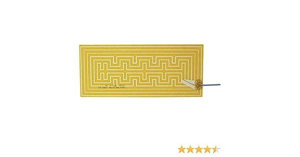 12 V//AC 15 W Schutzart IPX4 Thermo Polyester Heizfolie selbstklebend 12 V//DC L
