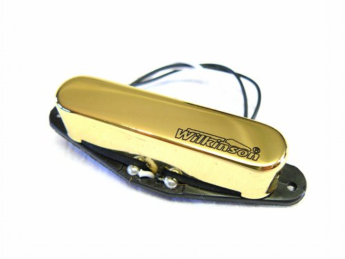Wilkinson MWTN II vintage voice Single Coil Neck-Position gold Single Voice Coil
